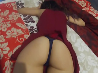 Step Sister Involving Overheated Dress Gets Fucked (cum in mouth)