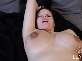 young girl gets fucked permanent by her roommate - Lilly Fox