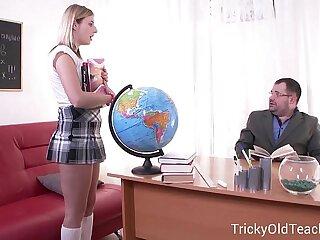 Teen gets seduced into sex by  teacher